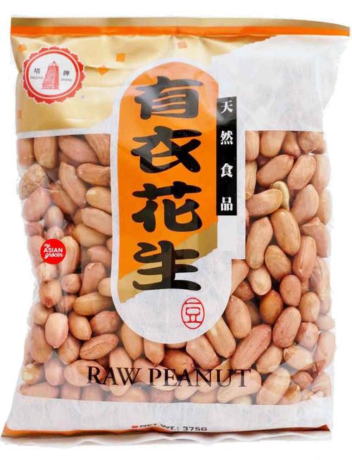 Pagoda Brand Raw Peanut 375g