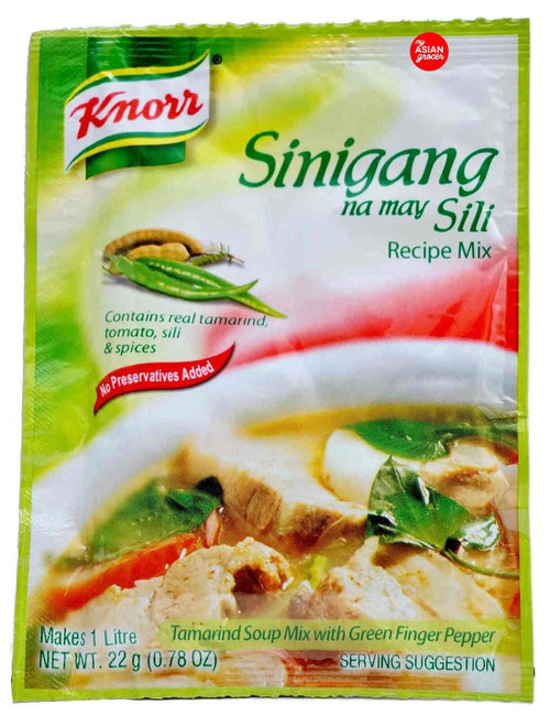 Knorr Tamarind Soup Mix with Green Finger Pepper 22g