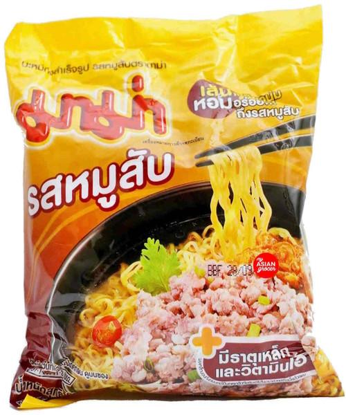Mama Instant Noodles Mixed Pork Flavour 60g