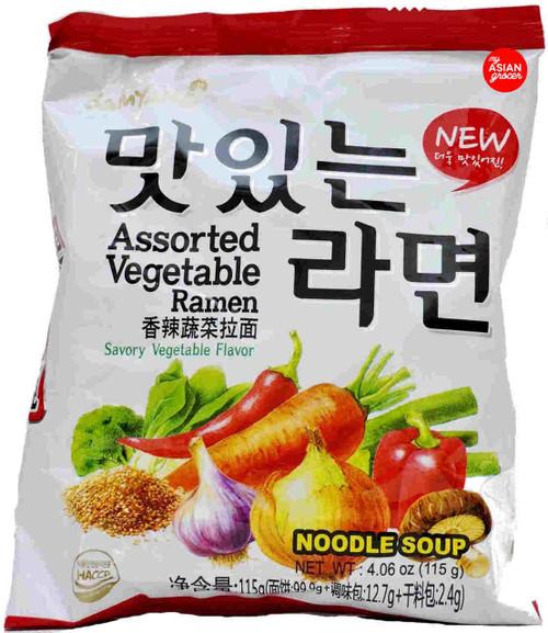 Samyang Assorted Vegetable Ramen 115g