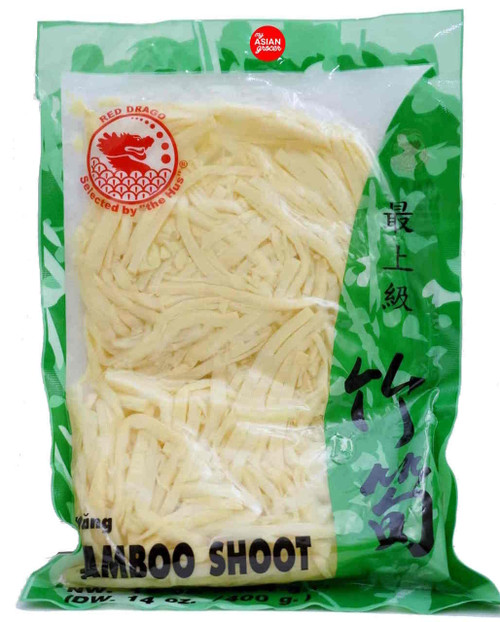 Red Drago Bamboo Shoot Strips 454g