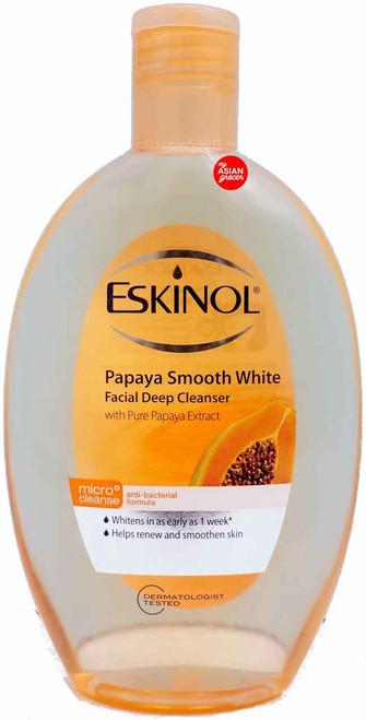 Eskinol Papaya Smooth White Facial Deep Cleanser with Pure Papaya Extract