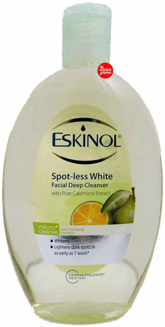 Eskinol Spot-less White Facial Deep Cleanser with Pure Calamansi Extract 225ml