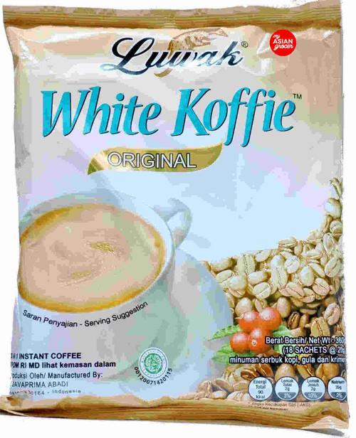 Luwak White Koffie Original 360g
