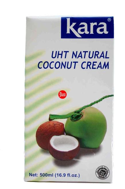 Kara UHT Natural Coconut Cream 500ml