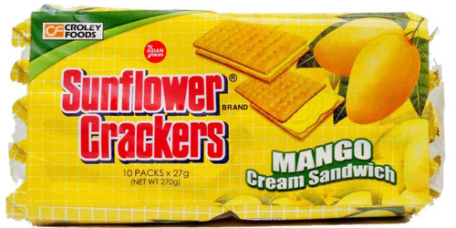 Croley Foods Crackers Mango Cream Sandwich 270g