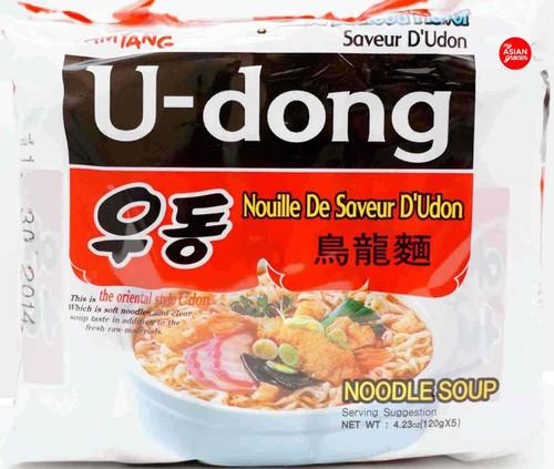 Samyang U-dong Noodle Soup 120g x 5 Pack