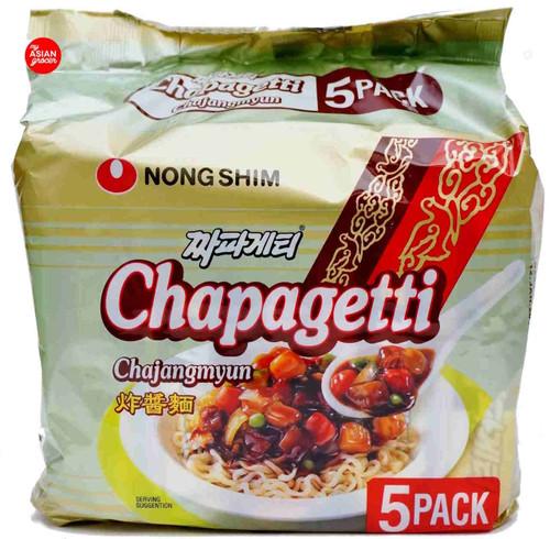NongShim Chapagetti Chajangmyun 140g x 5 Pack