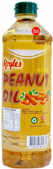 Royles Peanut Oil 1L
