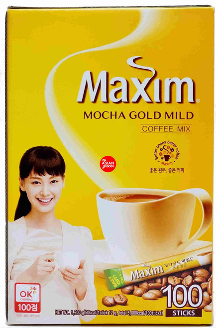Maxim Mocha Gold Mild Coffee Mix 12g x 100 Sticks