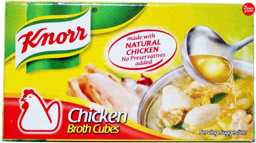 Knorr Chicken Broth Cubes 60g