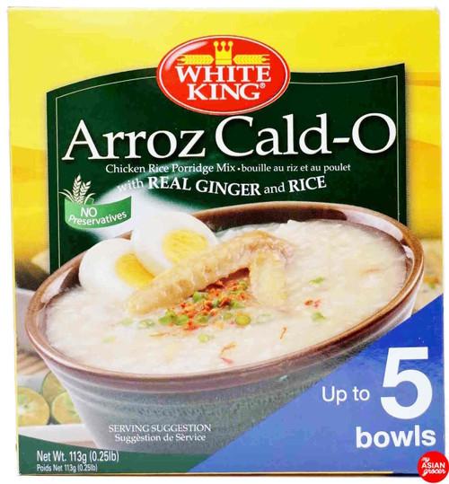 White King Arroz Cald-O Chicken Rice Porridge Mix 113g