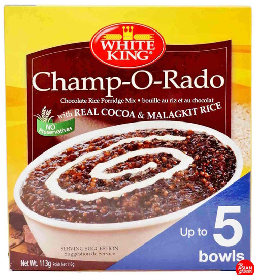 White King Champ-O-Rado Chocolate Rice Porridge Mix 113g