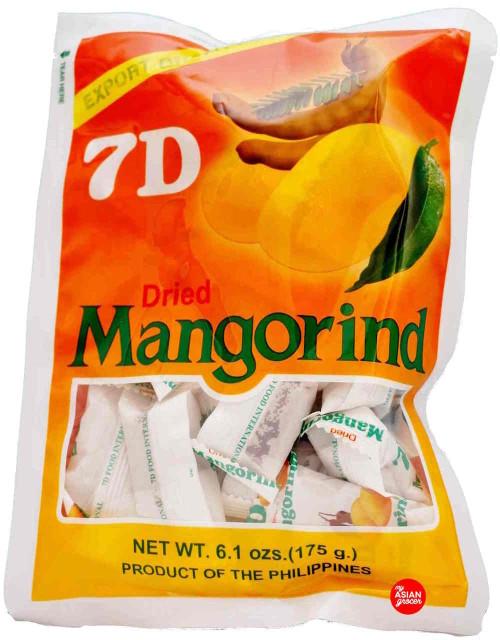 7D Dried Mangorind 175g