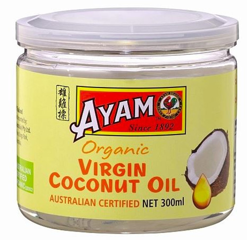 Ayam Organic Virgin Coconut Oil 300ml