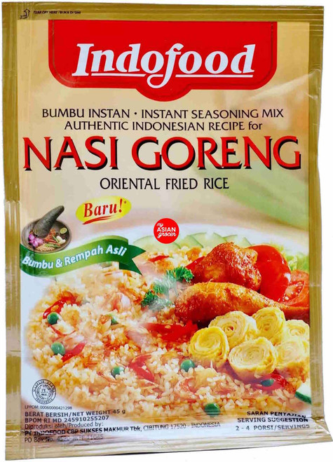 Indofood Nasi Goreng Instant Seasoning Mix 45g
