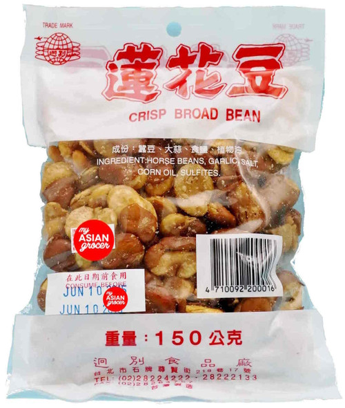 Distinctive Crisp Broad Bean Snack 150g