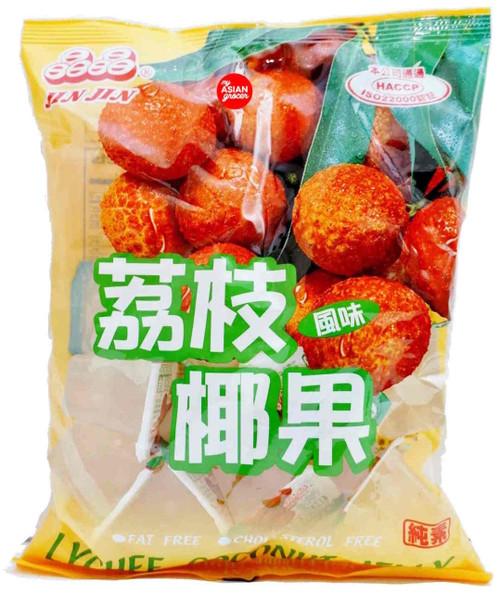 Jin Jin Lychee Coconut Jelly 400g