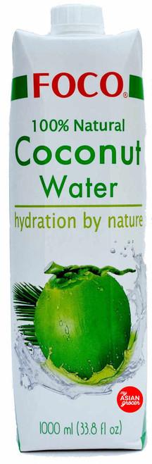 Foco 100% Natural Coconut Water 1000ml