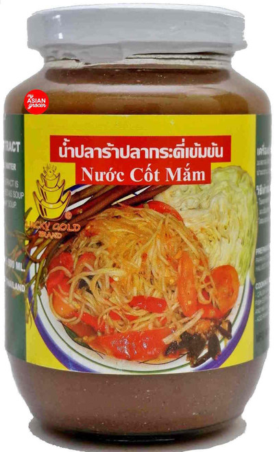 Lucky Gold Brand Pickled Gouramy Fish Extract 500ml