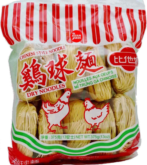 Chung Wah Chinese Style (Thin) Dry Noodles 375g