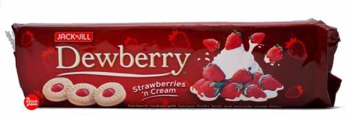 Jack'n Jill Dewberry Strawberries 'n Cream 330g