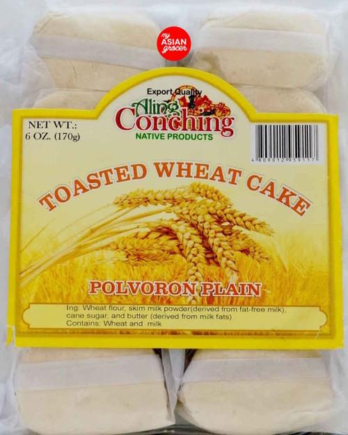 Aling Conching Toasted Wheat Cake Polvoron Plain 170g