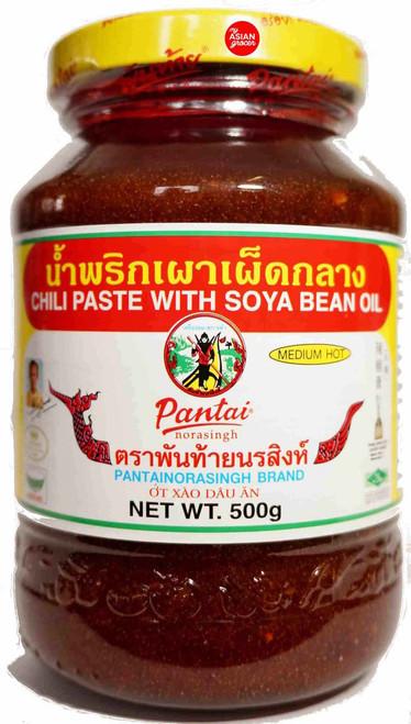 Pantai Chili Paste with Soya Bean Oil 500g