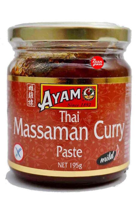 Ayam Massaman Curry Paste 195g