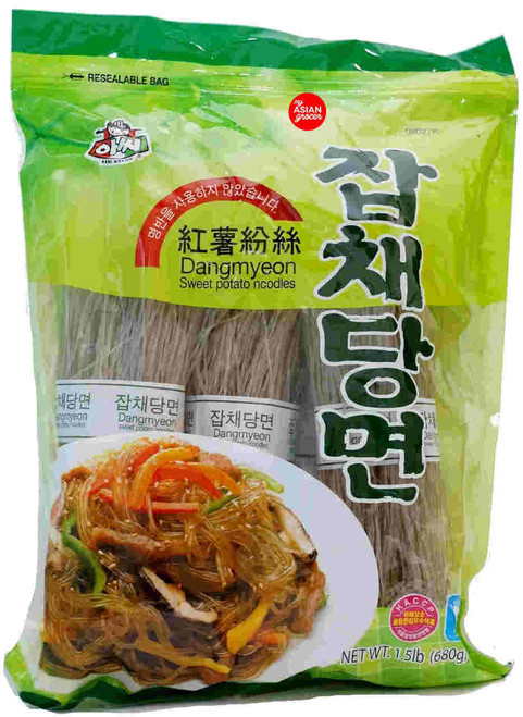 Assi Dangmyeon (Sweet Potato Noodles) 680g
