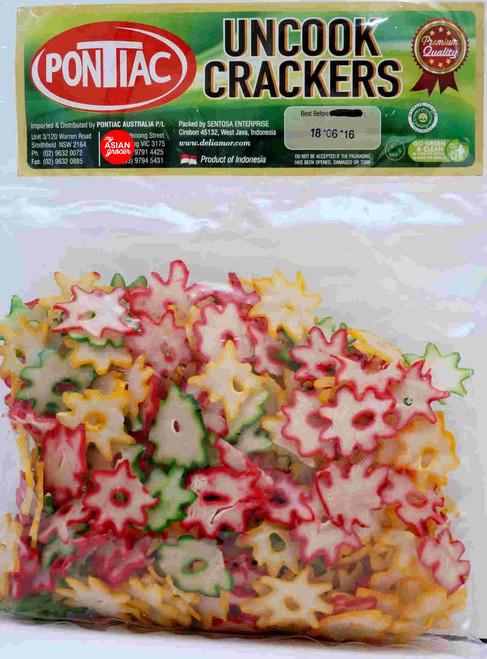 Pontiac Garlic Flower Crackers 200g