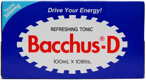 Bacchus-D Energy Drink 100ml x 10 Bottle