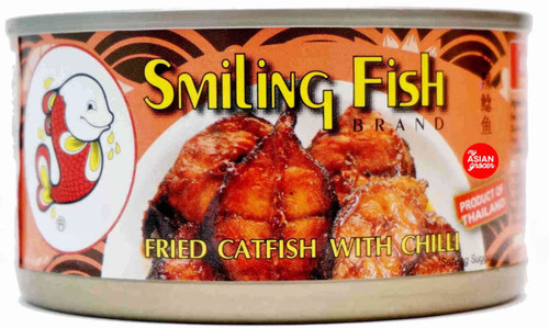 Smiling Fish Brand Fried Catfish with Chilli 90g