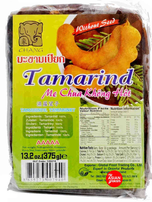 Chang Tamarind Without Seed 375g