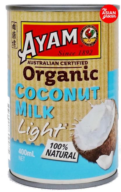 Ayam Organic Light Coconut Milk 400ml