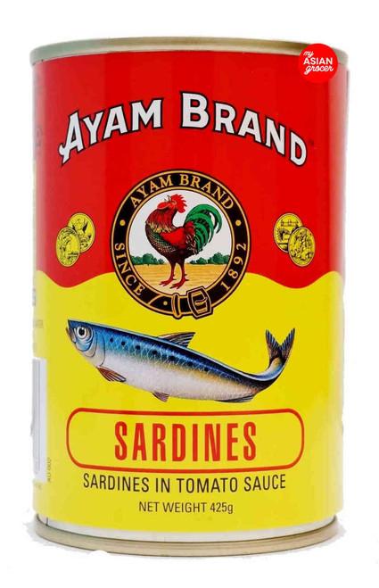 Ayam Sardines in Tomato Sauce 425g