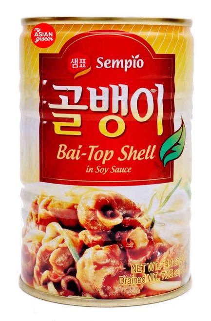 Sempio Bai-Top Shell in Soy Sauce 400g