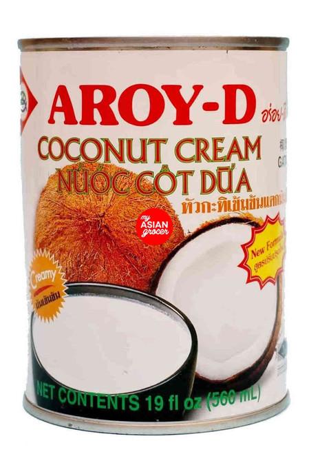 Aroy-D Coconut Cream 500ml