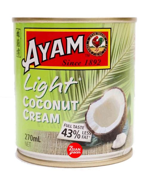 Ayam Light Coconut Cream 270ml