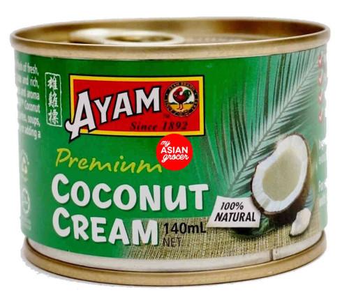 Ayam Premium Coconut Cream 140ml