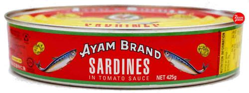 Ayam Sardines in Tomato Sauce Oval 425g
