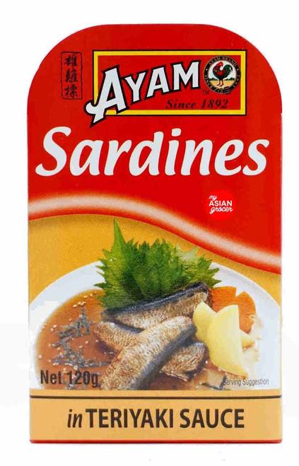 Ayam Sardines in Teriyaki Sauce 120g