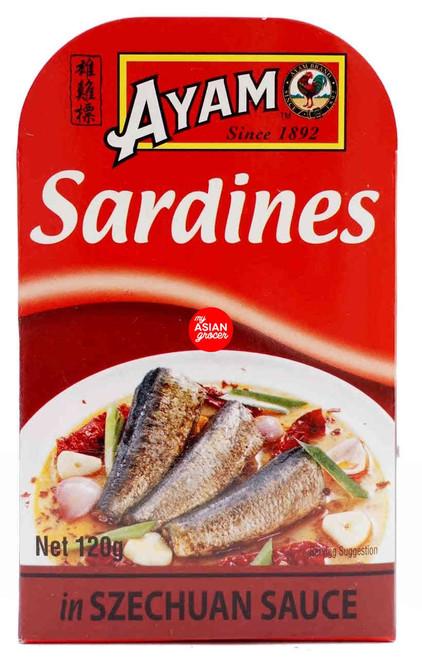 Ayam Sardines in Szechuan Sauce 120g