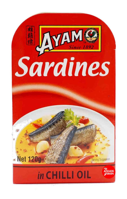 Ayam Sardines in Chilli Oil 120g