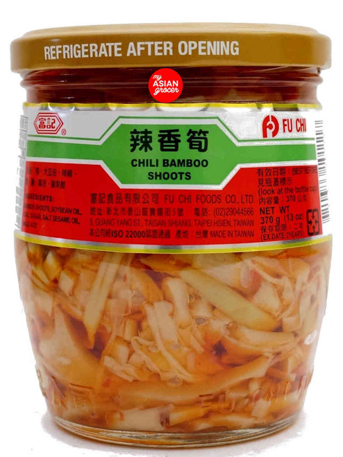 Fu Chi Chili Bamboo Shoots 370g