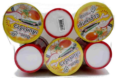 Madam Pum Quick Jok Instant Rice Porridge Pork 42g x 6