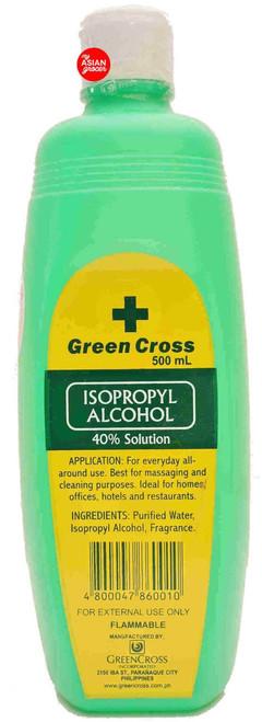 Green Cross Isopropyl 40% Alcohol 500ml