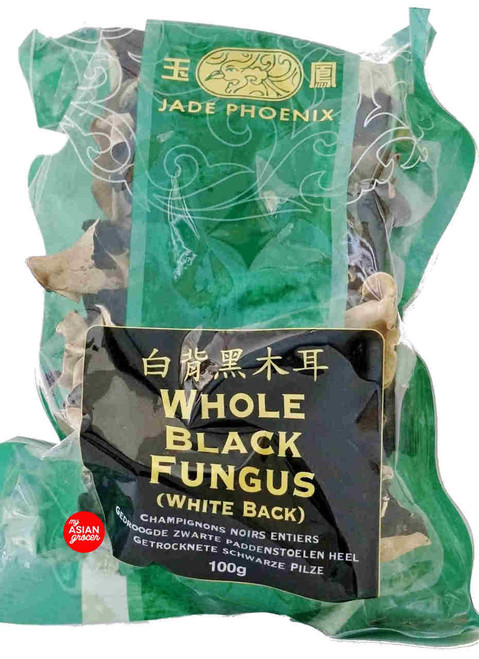 Jade Phoenix Whole Black Fungus (White Black) 100g