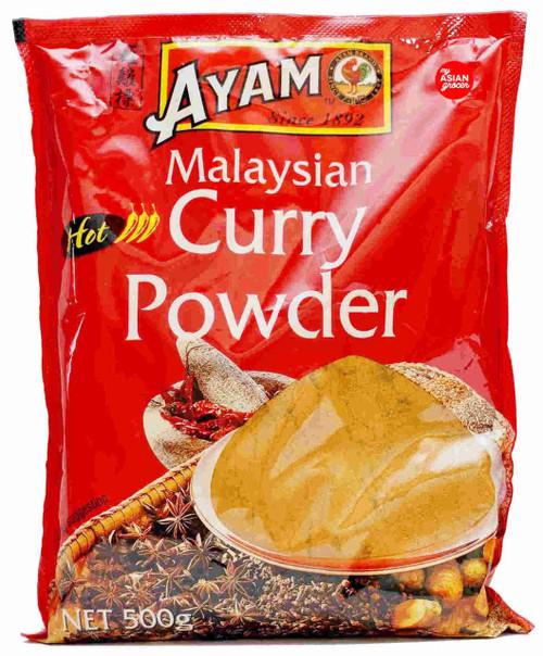 Ayam Hot Malaysian Curry Powder 500g