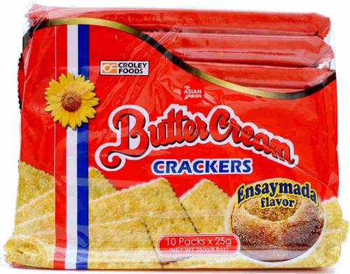 Croley Foods Butter Cream Crackers Ensaymada Flavor 250g